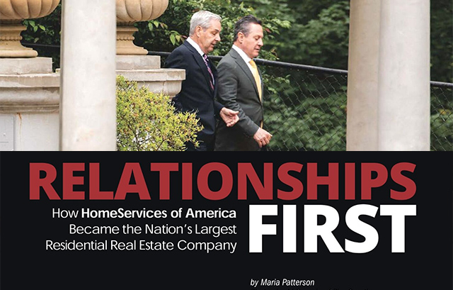 Relationships First: How HomeServices of America Became the Nation's Largest Operator of Reside