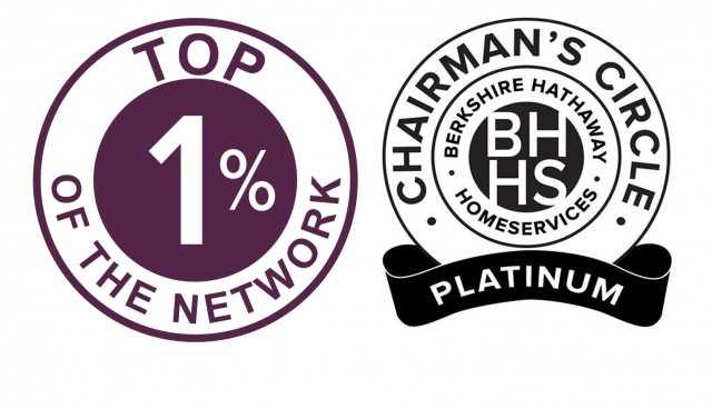 Berkshire Hathaway HomeServices award winners